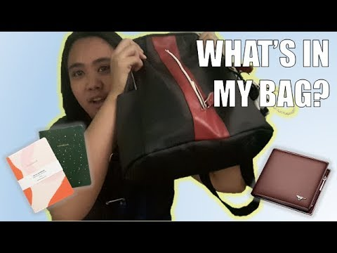 What's in my bag // USUAL WEEKEND PT. 1