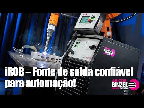 iROB – Fonte de solda confiável para automação!