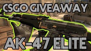 csgo giveaway   ak47 elite build