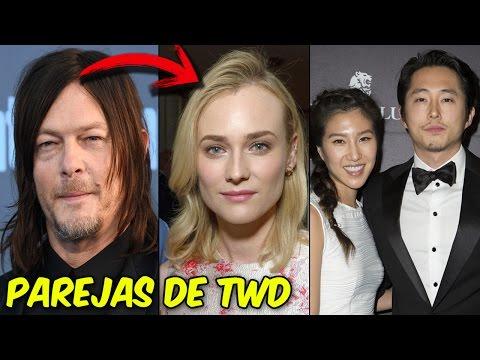 Pareja de los Actores de The Walking Dead