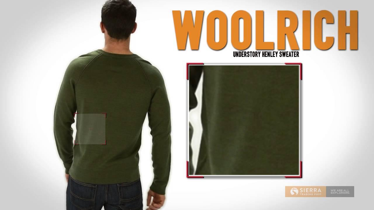 c8882b5e Woolrich Understory Henley Sweater - Merino Wool (For Men) - YouTube