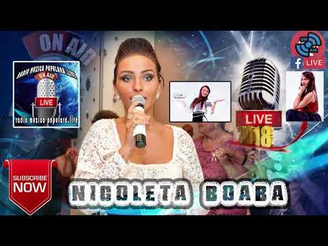 NICOLETA BOABA - SUPER COLAJ NOU LIVE 2018 MUZICA DE PETRECERE SARBA SI HORA