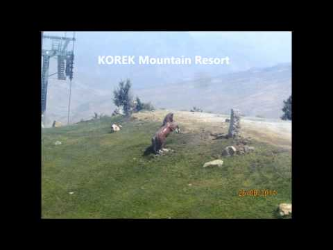 KOREK Mountain Resort Erbil-Kurdistan Region-at Rawandoz City منتجع جبل كورك