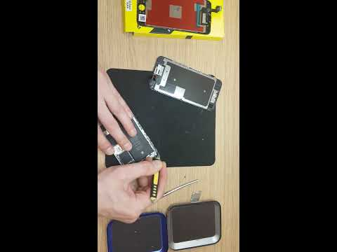 Apple iphone 6s black - How to take out LCD and clean your phone. LCD screen replacement