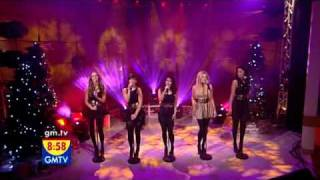 The Saturdays - Issues (Live on GMTV Performance)