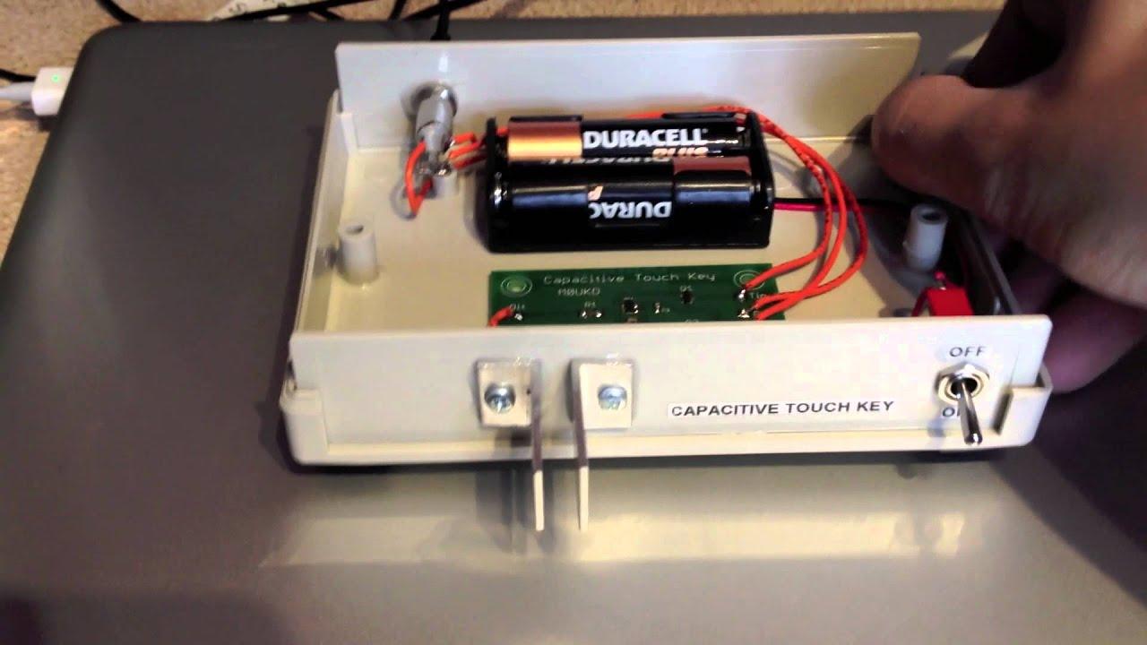 CW Capacitive Touch Paddle Key - M0UKD