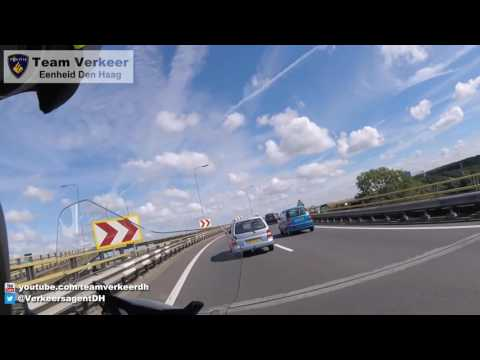 Ambulancebegeleiding / Police escort P.I. Scheveningen naar het Erasmus MC Rotterdam 14-06-2016