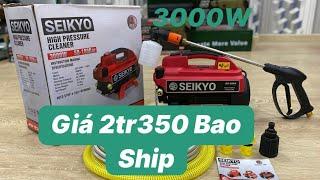 Máy Rửa Xe - Seikyo 3000W -Máy rửa xe cao áp -Máy Rửa xe mini -Máy rửa xe gia đình