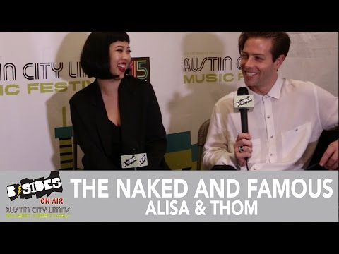 B-Sides On-Air: Interview - The Naked and Famous (Alisa & Thom) at Austin City Limits 2016