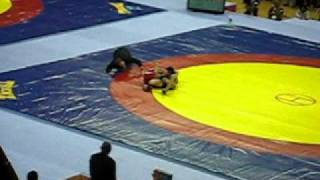 Sushil winning Gold.avi