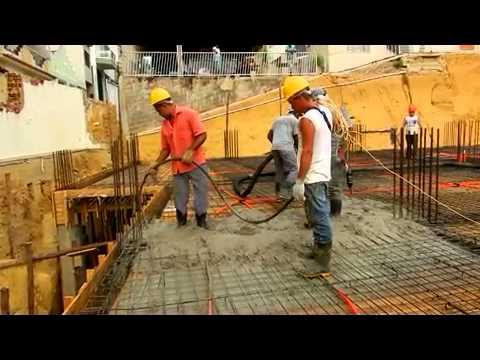 Video Primeiras Horas Concretagem Laje Nv Templo