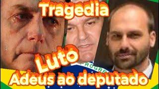 URGENTE FILHO DE BOLSONARO GRAVE !MORTE DO DEPUTADO SE VAI UM GRANDE HOMEM