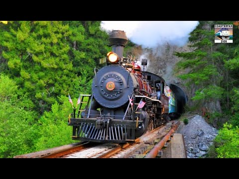 The SKUNK Train! - California Western Railroad