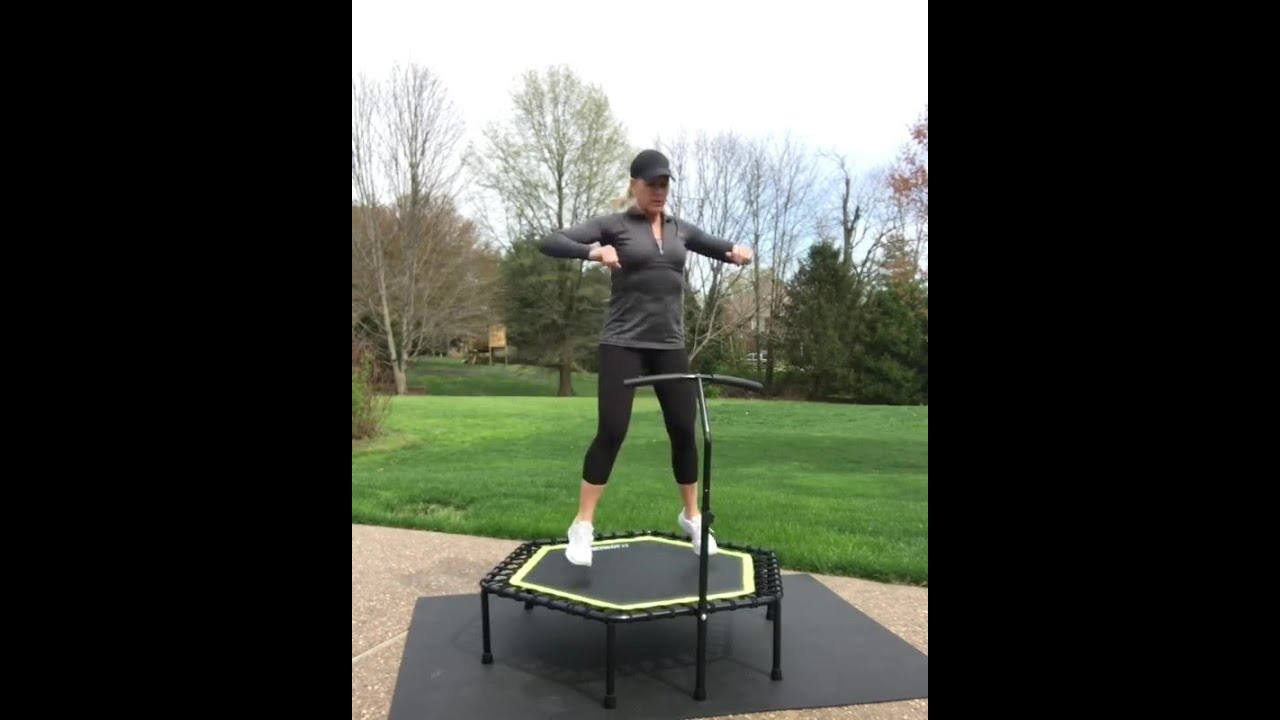 Trampoline Home Cardio Workout Routine OT064  | ONETWOFIT