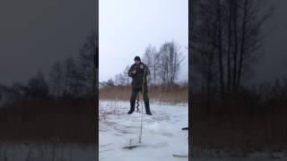 Льодобура 30 років. Зроблено в СРСР.