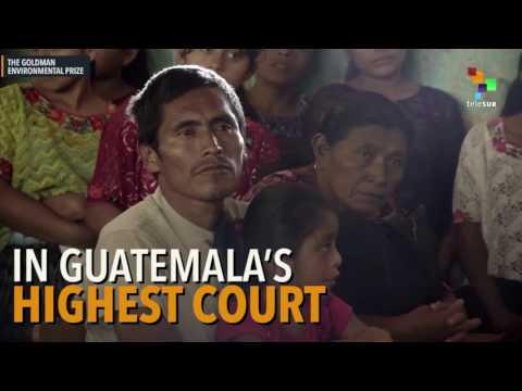 Indigenous Anti-Mining Activist in Guatemala Wins Award