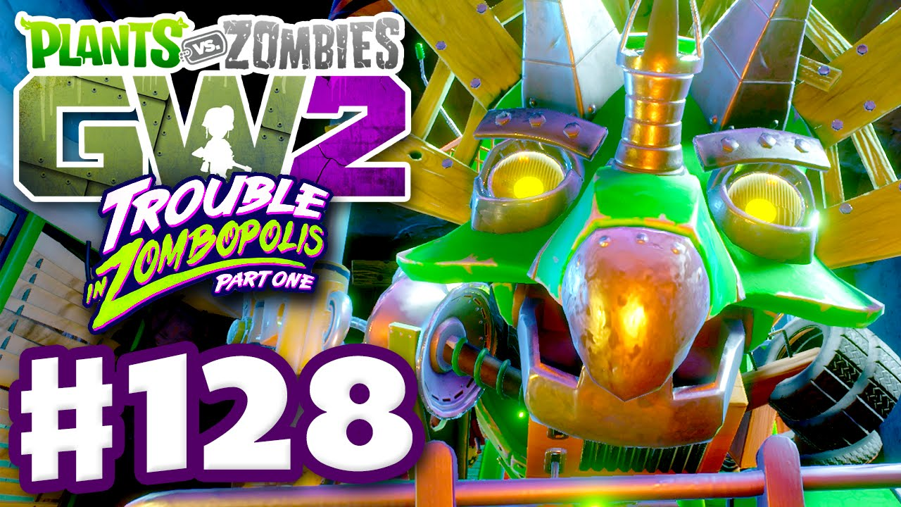 Plants vs zombies garden warfare 2 gameplay part 128 4 player infinity time pc youtube for Zackscottgames garden warfare 2
