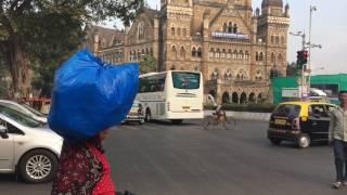 Индия.Мумбай-Бомбей.Январь 2017.2(Ж/Д вокзал в Мумбае считается одной из главных достопримечательностей города), 2017-02-18T22:08:54.000Z)