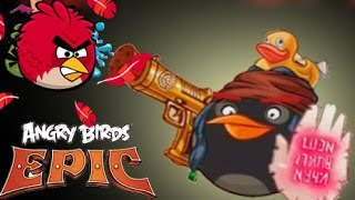 Angry Birds Epic ♥ Bomb with Sea Dog Class Knock Out The Other Birds