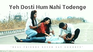 Yeh Dosti Hum Nahi Todenge  unplugged cover by rahul jain. Emotional friendship Video by chik jolly