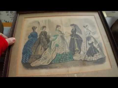 What Sold In My eBay Store - Antique Art, Crocodile, Fabric, Marty McFly, Steak N Shake