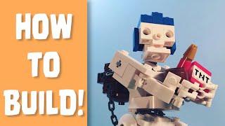 How To Build: LEGO Giant Skeleton!
