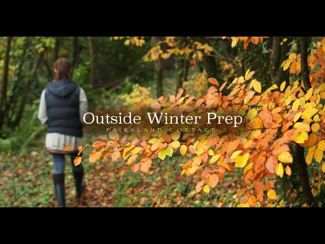 Winter Prep Routine - Simple and Sustainable living