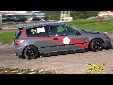 Strzelichowska Julia - Honda Civic - SuperOES 8 Runda Tor Kielce 24-08-2019