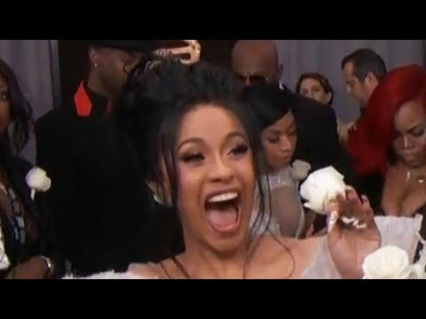 Cardi B Gives HILARIOUS Interview With Giuliana Rancic On Grammys 2018 Carpet