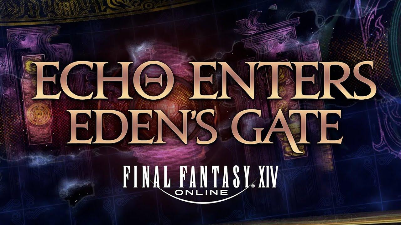 Download Echo Enters: Final Fantasy XIV   Announcement Trailer
