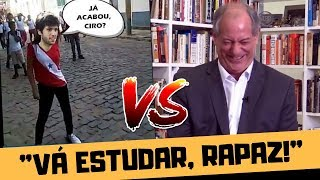 CIRO GOMES ESMIGALHA CAIO COPPOLLA NO MORNING SHOW!