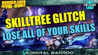 Borderlands The Pre-Sequel: Using a Vehicle Disables Your Skilltree @GearboxSoftware