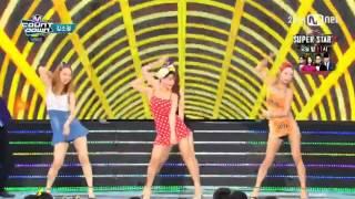 Video (150827) Kim So-Jung - Dance Music @ Mnet M!Countdown download MP3, 3GP, MP4, WEBM, AVI, FLV Juli 2018