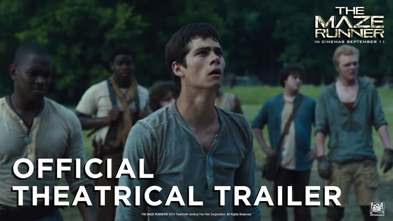 Download The Maze Runner [Official Theatrical Trailer in HD (1080p) with Film Classification]