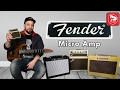FENDER MD20 MINI DELUXE AMPLIFIER + MINI TONEMASTER + MINI 57 TWIN AMP