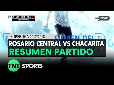Resumen de Rosario Central vs Chacarita (3-1) | Fecha 20 - Superliga Argentina 2017/2018