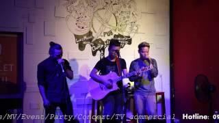 F-Band ft Dương Trần Nghĩa - Băn khoăn Full HD - (Live)