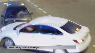 В сети появилось видео ДТП на пересечении улиц Гагарина и Рыкачева в Ярославле