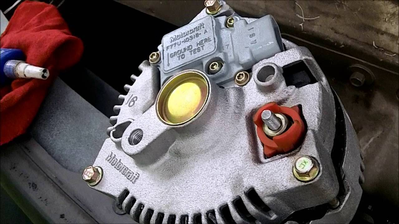 Diy Alternator Replacement Ford 4 2l V6 F150