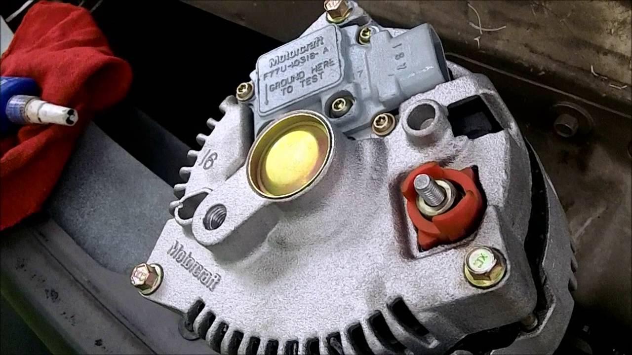 Diy Alternator Replacement Ford 4 2l V6 F150