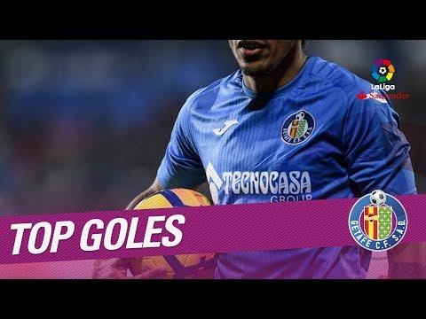 TOP Goles Getafe CF LaLiga Santander 2017/2018