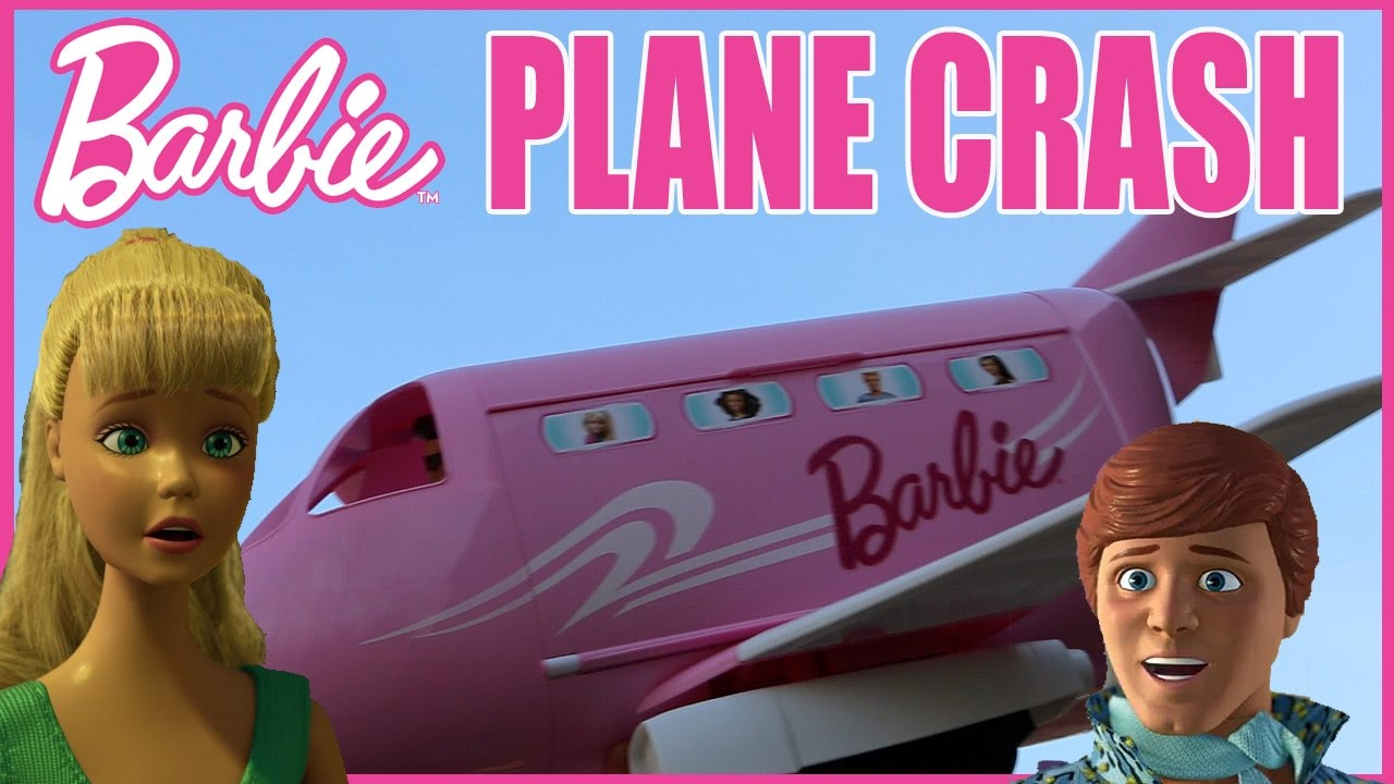 Barbie Plane Beach Vacation Gone Wrong In This Doll