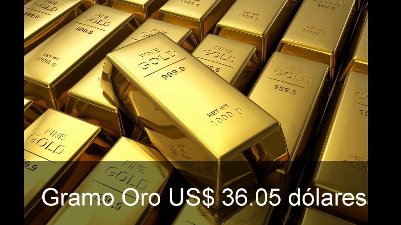 Precio Del Oro Www Preciodeloro Org