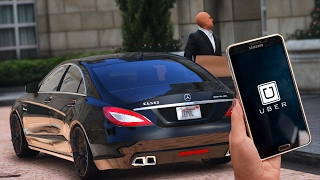 GTA 5 : Je travaille chez Uber