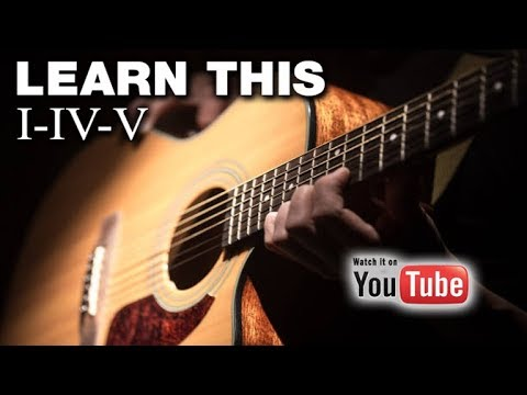 The Primary Chords - Easy Guitar (the 3 Chord Theory)
