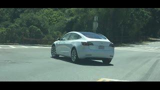 Tesla Model 3 prototype spotted testing - Electrek