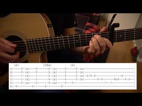 Good As You // Kane Brown // Easy Guitar Lesson // Chords & Tabs!
