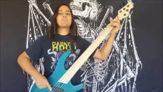 carnifex bass play through drown me in blood