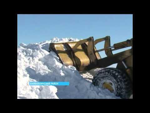 Хайбуллинский район накрыл мощнейший снегопад
