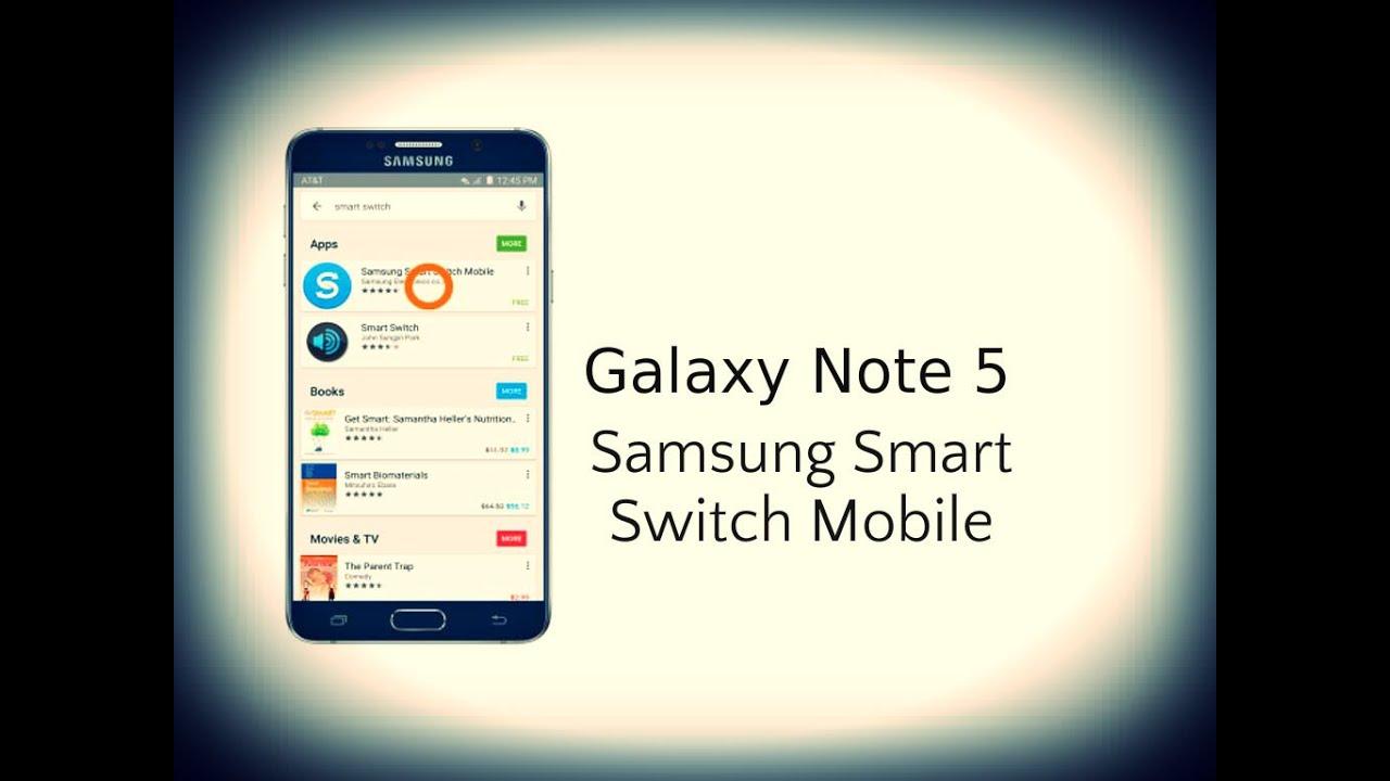 Galaxy S8  S8 :Tutorial - Smart Switch - YouTube